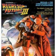 Cine: CARTEL REGRESÓ AL FUTURO III. Lote 293916868