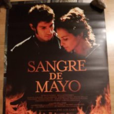 Cine: SANGRE DE MAYO - APROX 70X100 CARTEL ORIGINAL CINE (L93). Lote 293946813
