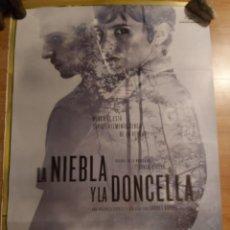 Cine: LA NIEBLA Y LA DONCELLA - APROX 70X100 CARTEL ORIGINAL CINE (L93). Lote 293947098
