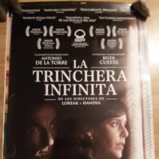 Cine: LA TRINCHERA INFINITA - APROX 70X100 CARTEL ORIGINAL CINE (L93). Lote 293947513