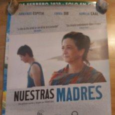 Cine: NUESTRAS MADRES - APROX 70X100 CARTEL ORIGINAL CINE (L93). Lote 293949338