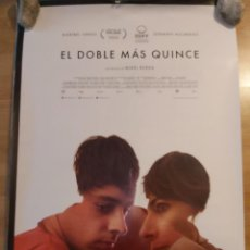 Cine: EL DOBLE MÁS QUINCE - APROX 70X100 CARTEL ORIGINAL CINE (L93). Lote 293949528
