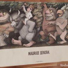 Cine: MAURICE SENDAK POSTER KALANDRAKA. Lote 294010238