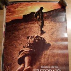 Cine: EL RETORNO DE LOS MALDITOS - APROX 70X100 CARTEL ORIGINAL CINE (L48). Lote 294080383