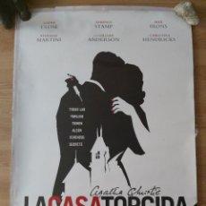 Cine: LA CASA TORCIDA - APROX 70X100 CARTEL ORIGINAL CINE (L48). Lote 294083718