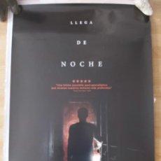 Cine: LLEGA DE NOCHE - APROX 70X100 CARTEL ORIGINAL CINE (L48). Lote 294084173