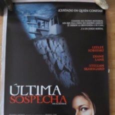 Cine: ÚLTIMA SOSPECHA - APROX 70X100 CARTEL ORIGINAL CINE (L48). Lote 294084523