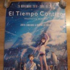 Cine: EL TIEMPO CONTIGO - APROX 70X100 CARTEL ORIGINAL CINE (L48). Lote 294098588