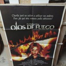 Cine: OJOS DE FUEGO DREW BARRYMORE POSTER ORIGINAL 70X100 M320. Lote 294121433