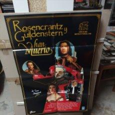 Cine: ROSENCRANTZ Y GUILDENSTERN HAN VUELTO POSTER ORIGINAL 70X100 M321. Lote 294122048
