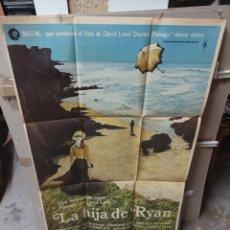 Cine: LA HIJA DE RYAN DAVID LEAN POSTER ORIGINAL 70X100 M327. Lote 294134978