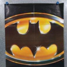 Cine: BATMAN. AÑO 1989, POSTER ORIGINAL PREESTRENO, SIN REPARTO. Lote 294385263