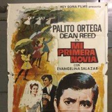 Cine: CDO N150 MI PRIMERA NOVIA PALITO ORTEGA DAN REED POSTER ORIGINAL 70X100 ESTRENO. Lote 294860723