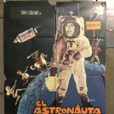 Cine: CDO N152 EL ASTRONAUTA TONY LEBLANC POSTER ORIGINAL 70X100 DEL ESTRENO A. Lote 294861568