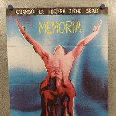 Cine: MEMORIA (LAS BESTIAS NO SE MIRAN AL ESPEJO) JAIME CASALS, FERNANDO SANCHO AÑO 1977 POSTER ORIGINAL. Lote 294948103