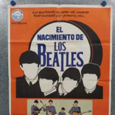 Cine: EL NACIMIENTO DE LOS BEATLES, STEPHEN MACKENNA. AÑO 1980. POSTER ORIGINAL. Lote 294949378