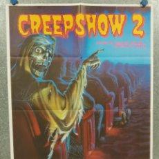 Cine: CREEPSHOW 2. STEPHEN KING. POSTER ORIGINAL. Lote 294950283