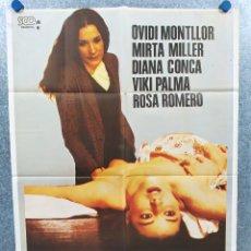 Cine: SEXO SANGRIENTO. OVIDI MONTLLOR, MIRTA MILLER, DIANA CONCA. AÑO 1981. POSTER ORIGINAL. CLASIFICADA S. Lote 294952448