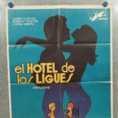 Cine: EL HOTEL DE LOS LIGUES. LINA ROMAY, ASUNCIÓN CALERO JESUS FRANCO. POSTER ORIGINAL. CLASIFICADA S. Lote 294952963