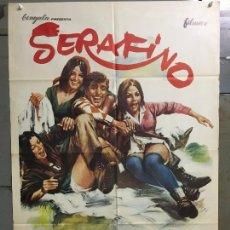Cine: CDO N177 SERAFINO ADRIANO CELENTANO POSTER ORIGINAL 70X100 ESTRENO. Lote 295048508