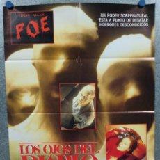 Cine: LOS OJOS DEL DIABLO. ADRIENNE BARBEAU, RAMY ZADA. DARIO ARGENTO AÑO 1978. POSTER ORIGINAL. Lote 295282138