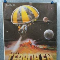 Cine: TERROR EN EL ESPACIO. BARRY SULLIVAN, NORMA BENGELL, MARIO BAVA AÑO 1979. POSTER ORIGINAL. Lote 295283643