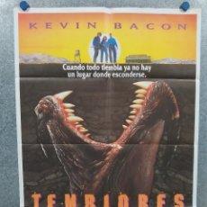 Cine: TEMBLORES. KEVIN BACON, FRED WARD, FINN CARTER. AÑO 1990. POSTER ORIGINAL. Lote 295284133