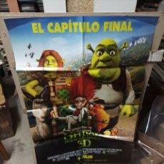 Cine: SHREK FELICES PARA SIEMPRE CAPÍTULO FINAL POSTER ORIGINAL 70X100 M404. Lote 295285168