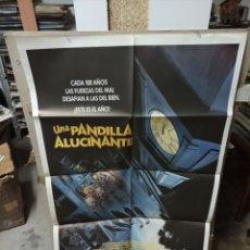 Cine: UNA PANDILLA ALUCINANTE MONSTER SQUAD POSTER ORIGINAL 70X100 M410. Lote 295287173