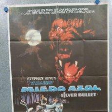 Cine: MIEDO AZUL. COREY HAIM, EVERETT MCGILL, GARY BUSEY STEPHEN KING AÑO 1982. POSTER ORIGINAL. Lote 295289993