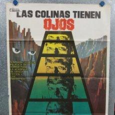 Cine: LAS COLINAS TIENEN OJOS. SUSAN LANIER, ROBERT HOUSTON, MARTIN SPEER. AÑO 1979. POSTER ORIGINAL. Lote 295296248
