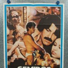Cine: GEMIDOS DE PLACER. LINA ROMAY, ROCÍO FREIXAS, JESUS FRANCO AÑO 1983. POSTER ORIGINAL. CLASIFICADA S. Lote 295299828