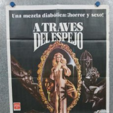 Cine: A TRAVES DEL ESPEJO. CATHERINE BURGESS, LAURA NICHOLSON. POSTER ORIGINAL. CLASIFICADA S. Lote 295300963