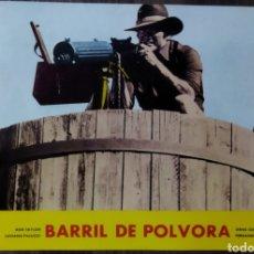 Cine: ANTIGUA FOTO PROMOCIAL PELÍCULA EL BARRIL DE POLVORA 1971. Lote 295313178