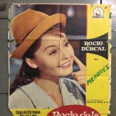 Cine: CDO N216 ROCIO DE LA MANCHA ROCIO DURCAL LUIS LUCIA POSTER ORIGINAL 70X100 ESTRENO. Lote 295445118