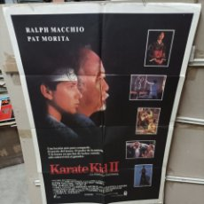 Cine: KARATE KID II RALPH MACCHIO PAT MORITA POSTER ORIGINAL 70X100 M413. Lote 295478498