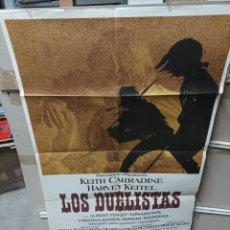 Cine: LOS DUELISTAS RIDLEY SCOTT POSTER ORIGINAL 70X100 M414. Lote 295479218
