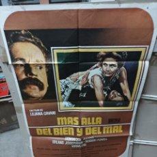 Cine: MAS ALLÁ DEL BIEN Y DEL MAL POSTER ORIGINAL 70X100 M415. Lote 295479873