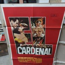 Cine: EL CARDENAL OTTO PREMINGER ROMMY SCHNEIDER PÓSTER ORIGINAL 70X100 M416. Lote 295509178