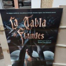 Cine: LA TABLA DE FLANDES PÉREZ REVERTE POSTER ORIGINAL 70X100 M417. Lote 295509648
