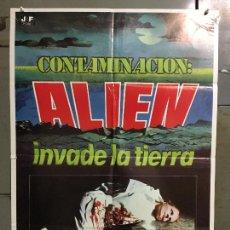 Cine: CDO N234 CONTAMINACION ALIEN INVADE LA TIERRA LEWIS COATES POSTER ORIGINAL 70X100 ESTRENO. Lote 295510203