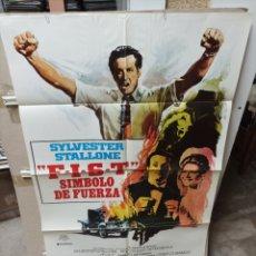 Cine: F.I.S.T SÍMBOLO DE FUERZA STALLONE POSTER ORIGINAL 70X100 M440. Lote 295618003