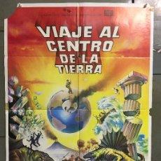 Cine: CDO N251 VIAJE AL CENTRO DE LA TIERRA JAMES MASON JULIO VERNE MATAIX POSTER ORG 70X100 ESPAÑOL R-80S. Lote 295715433