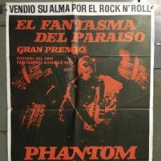 Cine: CDO N252 EL FANTASMA DEL PARAISO MARTIN SCORCESE POSTER ORIGINAL 70X100 ESTRENO. Lote 295715958