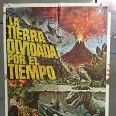 Cine: CDO N255 LA TIERRA OLVIDADA POR EL TIEMPO DOUG MCCLURE POSTER ORIGINAL 70X100 ESTRENO. Lote 295717693