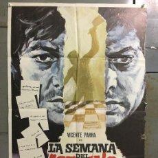 Cine: CDO N260 LA SEMANA DEL ASESINO ELOY DE LA IGLESIA VICENTE PARRA MONTALBAN POSTER ORIG 70X100 ESTRENO. Lote 295724503