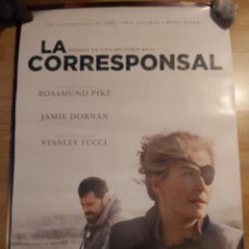 Cine: LA CORRESPONSAL - APROX 70X100 CARTEL ORIGINAL CINE (L94). Lote 295746188