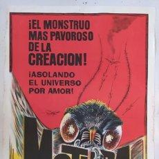 "Cine: ""MOTHRA, LA INDESTRUCTIBLE"" - PÓSTER DE CINE ORIGINAL 1961. Lote 295834023"