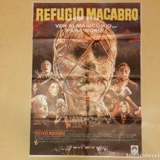 Cine: REFUGIO MACABRO (ASYLUM) ROY WARD BAKER CARTEL ORIGINAL ESTRENO 1973 MUY RARO!!. Lote 296599378