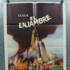 Cine: LLEGA EL ENJAMBRE. MICHAEL CAINE, KATHARINE ROSS, RICHARD WIDMARK, H. FONDA AÑO 1978 POSTER ORIGINAL. Lote 296687588